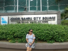 Outside at Johor Bahru's mall