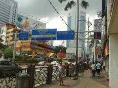 Johor Bahru streets