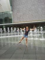 Vivo city fountains