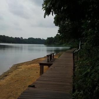 My Ritchie reservoir trail